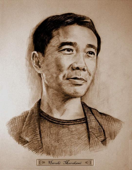 Haruki Murakami by Tonio